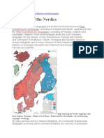 Languages of the Nordics