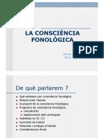 conscencia fonològica