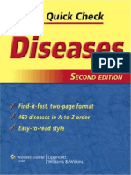 Diseases, Nurse's Quick Check - 2nd Ed