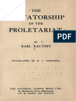 KAUTSKY, Karl - The Dictatorship of the Proletariat