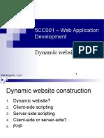 01 - Dynamic Websites