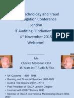 IT Auditing Fundamentals