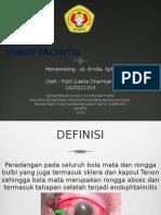 PPT Panoftalmitis