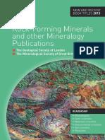 Rock Forming Minerals Catalogue 2013