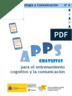 APPS CEAPAT 4 Apps Gratuitas Para El Entrenamiento Cognitivo y La Comunicación Completo