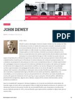 06 John Dewey _ Pedagogía