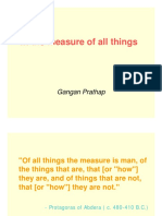 Measure of All Things