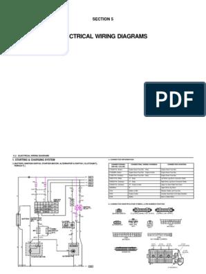 Daewoo Cruise Control Diagram | Wiring Diagram