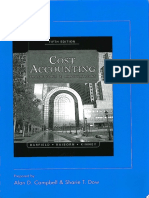 Cost Accounting Traditions and Innovatioons-5e