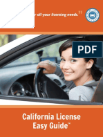 Checklist Renew Drivers License California