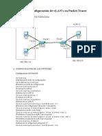 Ejemplo Configuración Switch