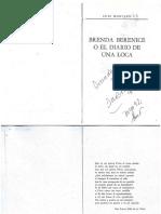 Brenda Bernice o el diario de una loca Luis MonTAÑO
