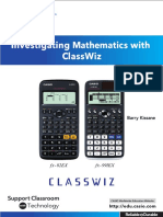 Investigating Mathematics With ClassWiz