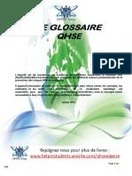 Le Glossaire QHSE