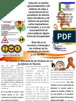 Triptico Dia Victimas de Accidentes de Trafico-2016