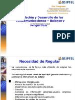 07) Crecimiento Telecomunicaciones Osiptel