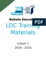 rural ldc hstw training materials cover