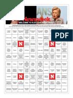Newsweek Election Night Bingo!