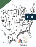 NBC 24 Election Map