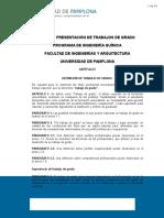 Documento Normas Trabajo de Grado Programa de Ing. Química FINAL