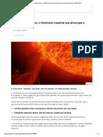 Tempestades Solares, o Fenômeno Espacial Que Preocupa o Governo Obama - BBC Brasil