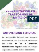 Rehabilitación en Trastornos de Rotación
