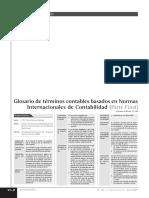 5. Glosario contable