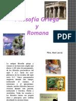 Filosofia Griega y Romana