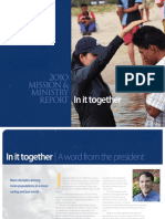 Covenant Mission and Ministry Report