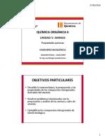V.2 AMINAS - Propiedades Químicas