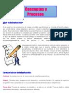 Conceptos y Procesos de Evaluacion