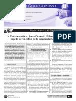 AFP, Convocatoria a Junta y Plazos Administrativos