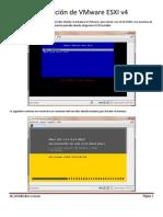 Configuracion VMware ESXI v4