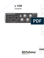 AudioBoxUSB OwnersManual ES