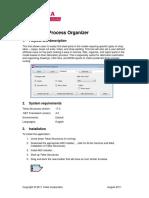 Fabrication Process Organizer