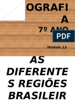 Geografia - 7º Ano (4º Bimestre) - COMPLEXOS REGIONAIS SLIDES
