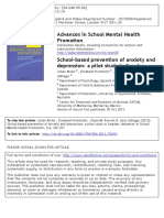 School-based prevention of anxiety and depression