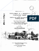 A 013361 - Development of a Projectile Penetration Theory