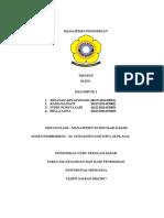 Pengertian Dan Ruang Lingkup Manajemen Di SD