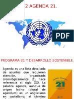 Agenda 21 Desarrollo