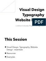 CIPM Visual Design - Typography, Logos, Website Design