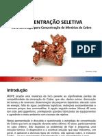 MOPE - Nova Estrategia Para Concentracao de Minerios de Cobre