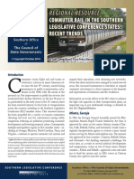 Commuter Rail in the Southern Legislative Conference States