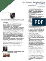 peru newsletter