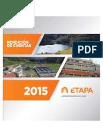 Rendicion de Cuentas Etapa EP Cuenca