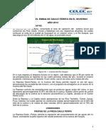 Operación Del Embalse Daule Peripa en El Actual Invierno