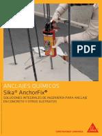 Anclajes Químicos Sika® Anchorfix