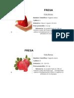 Calibres de Las Fresas