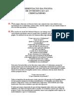 03-Apresentação Da Página de Introdução Ao Cristianismo