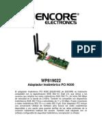 WP819022 Specs SP